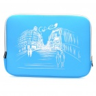"Stylish Protective Soft Bag for 15.6"" Laptop Notebook - Blue"