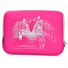 """Stylish Protective Soft Bag for 15.6"""" Laptop Notebook - Deep Pink"""
