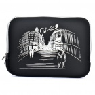 "Stylish Protective Soft Bag for 15.6"" Laptop Notebook - Black"
