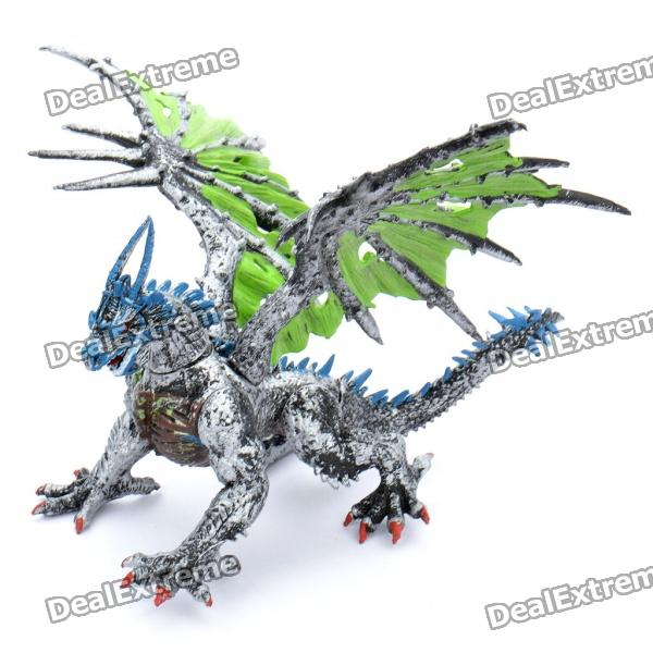 cool pvc diy assembly dragon display toy  random style