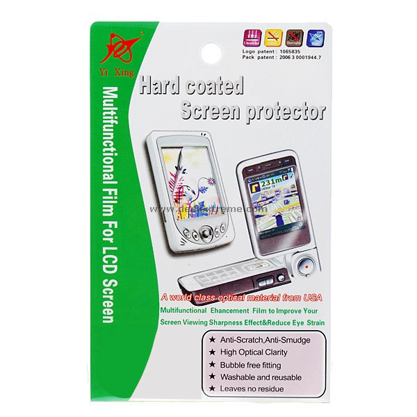 Screen Protector for SONY ERICSSON K858/850 screen protector for sony ericsson w850
