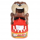 Practical Joke Funny Gritting Teeth Dog - Red + Brown