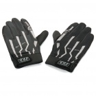 Outdoor Sports Bicycle Full-Finger Gloves - Black (L Size / Pair)