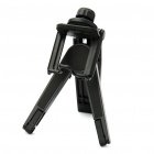 Universal ABS Tripod Stand Holder for Cell Phone/Tablet PC/Camera - Black