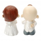 Romantic Resin Kissing Couples Toy Desktop Dolls