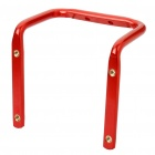 Metal Bike Bicycle Saddle Rail Dual Water Bottle Holder Bracket - Red