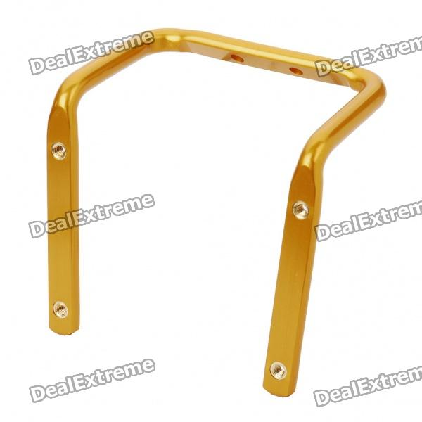 Metal Bike Bicycle Saddle Rail Dual Water Bottle Holder Bracket - Golden ботинки mon ami mon ami mo151awdkbv0