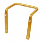 Metal Bike Bicycle Saddle Rail Dual Water Bottle Holder Bracket - Golden