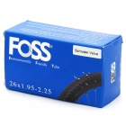 FOSS Schrader Explosion Proof Inner Tube for Bicycle (26x1.95-2.25)