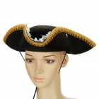Cool Pirate Style Hat with Lace for Halloween