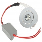 1W 90-Lumen 6500K White LED Ceiling Lamp/Down Light with LED Driver (AC 85~245V)