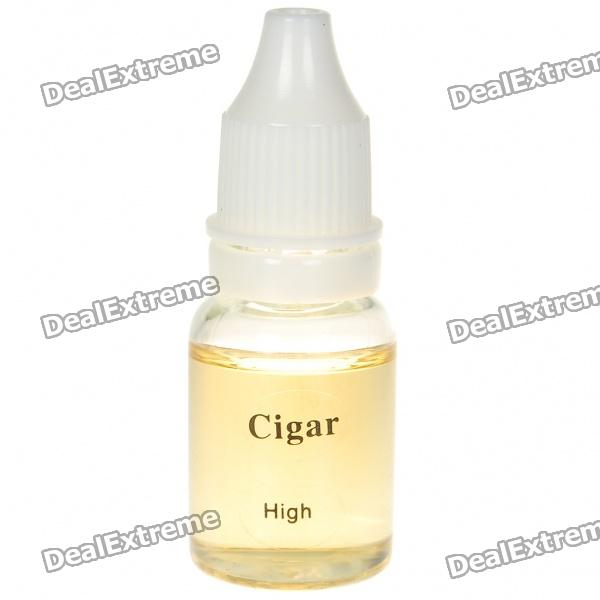 Tobacco Tar Oil for Electronic Cigarette - Cigar Flavor/High (10ml)