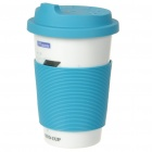 ECO Ceramic Cup with Cover + Straw - Piano Image Pattern (330ml)