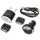 5-in-1 Charger Kit für Samsung P1000/iPad/iPhone