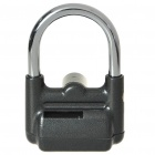 Stainless Steel 70dB Alarm Security Lock with 3-Key (2 x AAA)