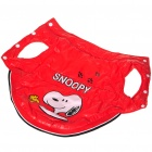 Cute Snoopy Pattern Dog Apparel Pet Clothes - Random Style (Size-M/12)
