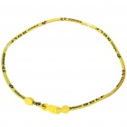 Stylish Sporty Cloth Necklace - Yellow + Black (55CM-Length)