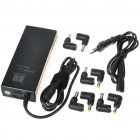 120W Universal Laptop AC Power Supply with 8 Connectors & LCD display (AC 100~240V)