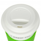 UC Ceramic Cup with Cover - I'm not a paper cup (Grass Green / 400ml)
