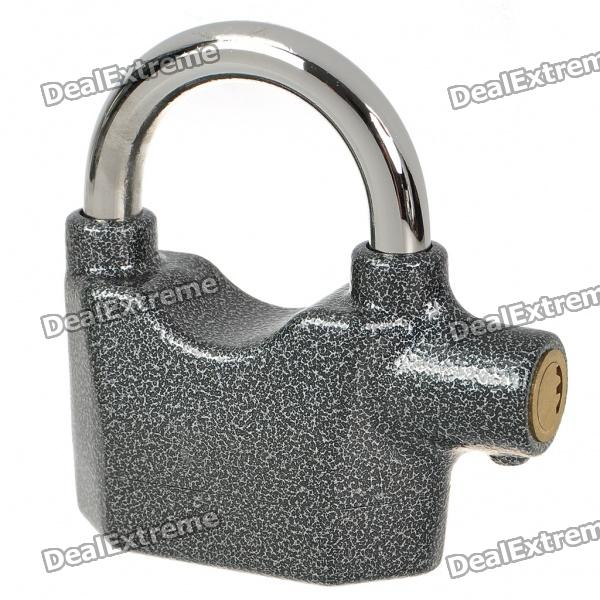 Stainless Steel 70dB Alarm Security Lock with 3-Key (3 x AG3)