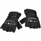 Genuine Oakley Half-Finger Gloves - Random Color (Size L/Pair)