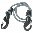 KnotBone Adjustable Bungee Cord + Carabiner (25~122 CM-Length)