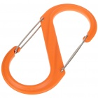 Universell # 10 S-Biner Karabiner-Clip - Orange