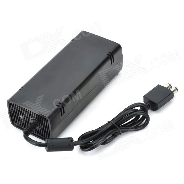 AC Power Adapter for Xbox 360 Slim (EU Plug / AC 100~240V) ac power adapter for xbox 360 kinect sensor black ac 100 240v uk plug