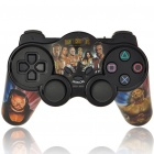 Buy on dealextreme.com 2.4GHz RF Wireless Dual-Shock Game Controller with Receiver for PS2 - Night of Champions (3 x AAA) Sku-70195