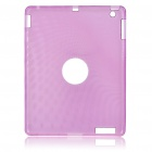 Protective Silicone Back Case for iPad 2 - Purple