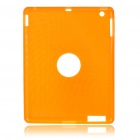 Protective Silicone Back Case for Ipad 2 - Orange