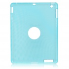Protective Silicone Back Case for Ipad 2 - Blue