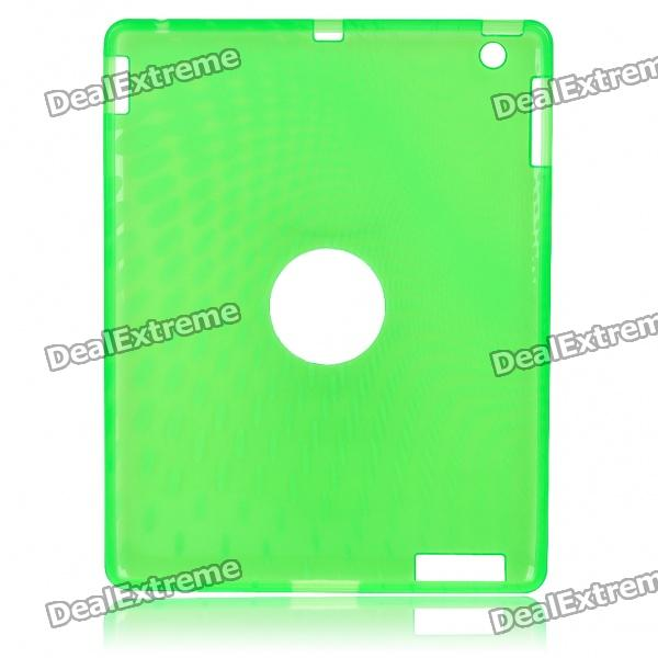 Protective Silicone Back Case for Ipad 2 - Green for ipad mini4 cover high quality soft tpu rubber back case for ipad mini 4 silicone back cover semi transparent case shell skin