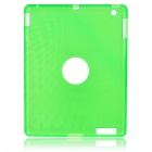 Protective Silicone Back Case for Ipad 2 - Green