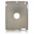 Protective Silicone Back Case for Ipad 2 - Grey