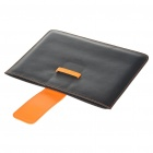 Protective PU Leather Case for   Ipad 2 - Black + Orange