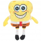 Cute Plush SpongeBob Figure Toy with Suction Cup - Style Assorted (Small-Size)