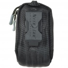 Nite Ize Protective Waterproof Cloth Digital Camera Bag with Belt Clip - Black (Size-S)