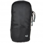 Nite Ize Protective Waterproof Cloth Digital Camera Bag with Belt Clip - Black (Size-M)