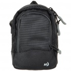 Nite Ize Protective Waterproof Cloth Digital Camera Bag with Carrying Strap - Black (Size-L)