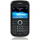 "K66 2.3"" LCD Quad SIM Quad Network Standby Quadband GSM TV Cell Phone w/ WIFI+JAVA - Black"