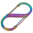 Nite Ize S-Biner Stainless Steel Carabiner Clip - Color Assorted (Size #3)