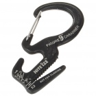 Nite Ize Carabiner Rope Tightener - Black (Size-S)