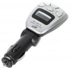 "1.1"" LCD Bluetooth V2.0 MP3 Player FM Transmitter with Caller ID Handsfree - Silver (SD/USB/12V)"