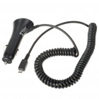 Genuine Moto Micro 5-Pin Mobile Car Adapter/Charger for Cell Phones (DC 12~24 V)
