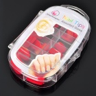 Stylish ABS Salon Artificial Finger Nails Set - Red