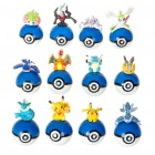 Cute Pokemon Figures PVC Tumblers (12-Figure Set)