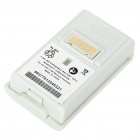 "Rechargeable ""4800mAh"" Battery for Xbox 360 Slim Controller (White)"