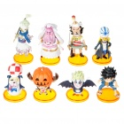 One Piece Figures Set with Display Base (8-Piece Set/Assorted)