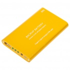 2000mAh Emergency Power Rechargeable Battery Pack with USB Port (Golden)
